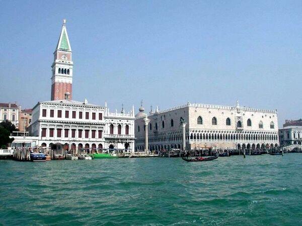 Венеция. Вид на пьяццета Сан-Марко