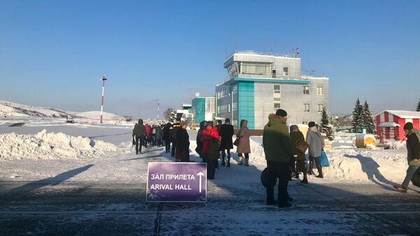 Аэропорт города Горно-Алтайск