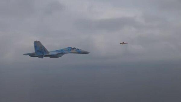 Опубликовано видео пуска угрожающей Крымскому мосту украинской ракеты