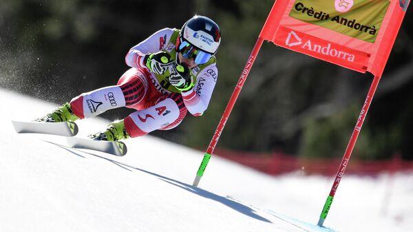 Австрийская горнолыжница Николь Шмидхофер