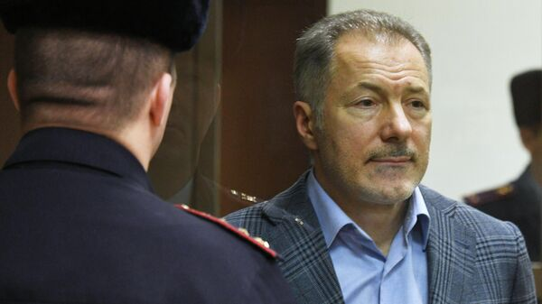Бывший депутат Верховной рады Украины Николай Рудьковский в Московском городском суде