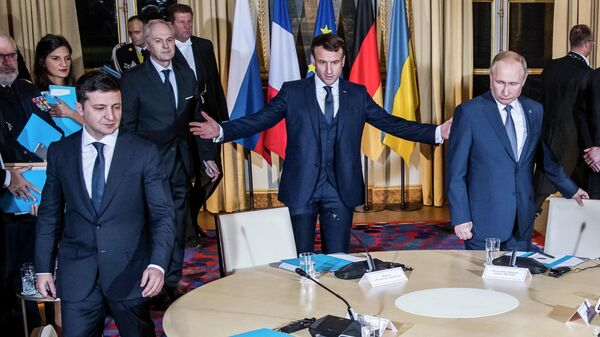 """Даты нового саммита """"нормандской четверки"""" пока нет, заявили в Кремле"""