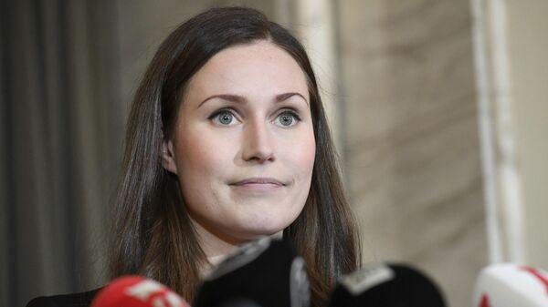 Новый премьер-министр Финляндии Санна Марин