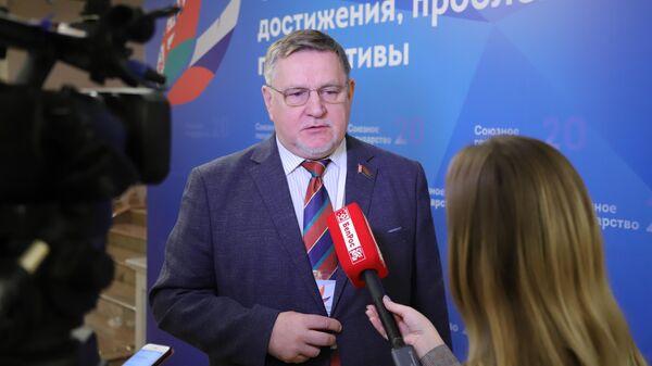 Депутат Национального собрания Республики Беларусь, председатель общественного объединения Белая Русь Геннадий Давыдько