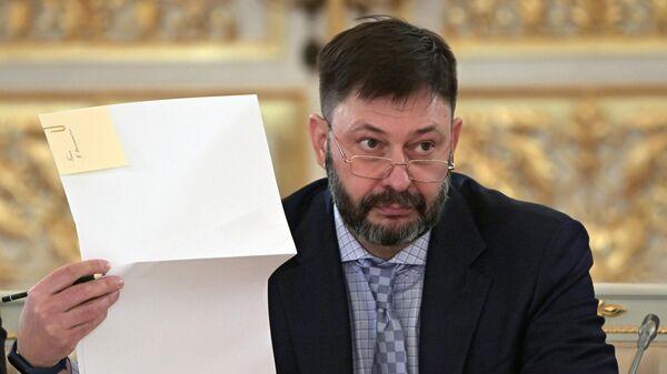 Кирилл Вышинский на заседании Совета по развитию гражданского общества и правам человека