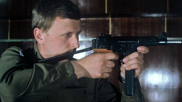 Пистолет-пулемет Макарова Кипарис калибра 9 мм