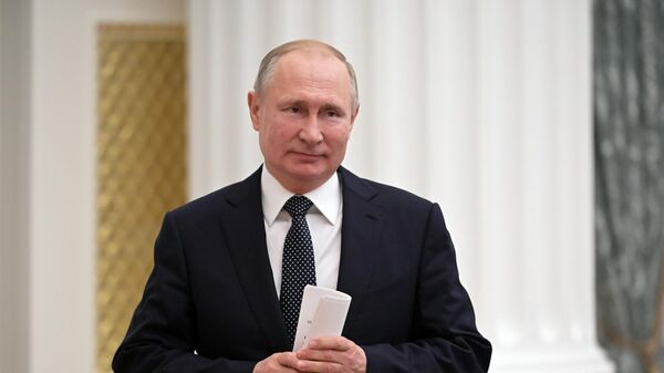 Президент Владимир Путин