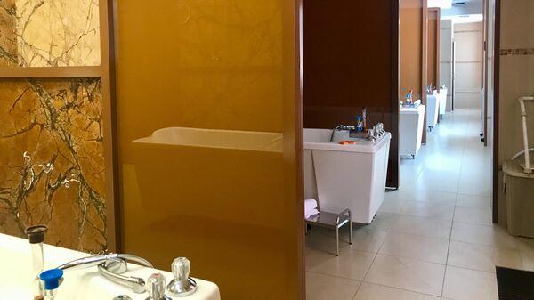 Ванны в клинике курортного комплекса Алтай Резорт
