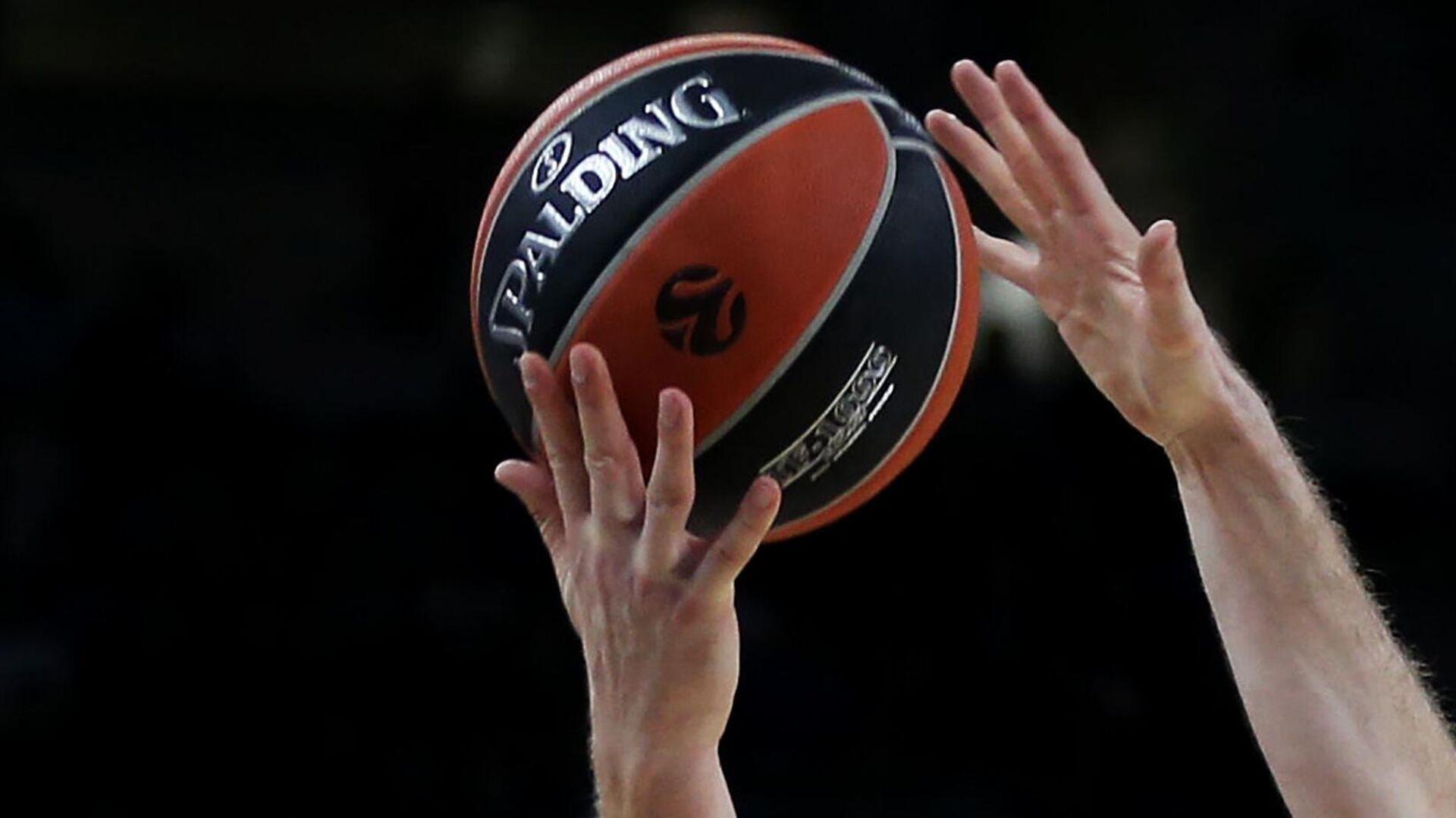 Баскетбол. Мяч - РИА Новости, 1920, 15.01.2021