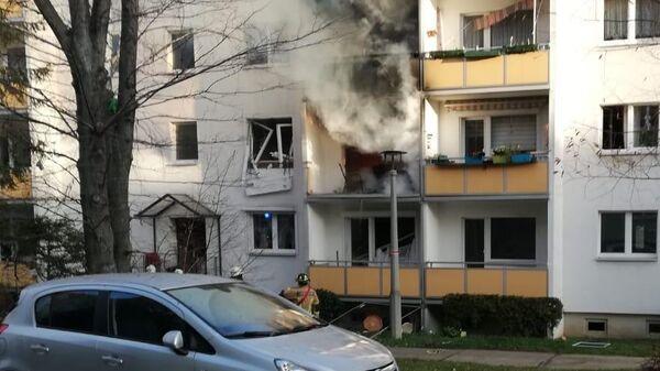 Взрыв в жилом доме в Германии. 13 декабря 2019