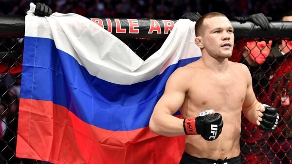 Российский боец Петр Ян