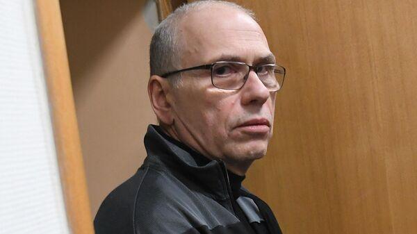 Бывший министр финансов Московской области Алексей Кузнецов, обвиняемый в хищении 14 миллиардов рублей, в Басманном суде Москвы