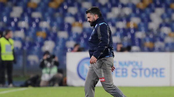 главный тренер ФК Наполи Дженнаро Гаттузо.