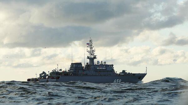 Новейший корабль противоминной обороны Владимир Емельянов