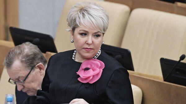 Первый заместитель председателя комитета Государственной Думы по бюджету и налогам Ирина Гусева