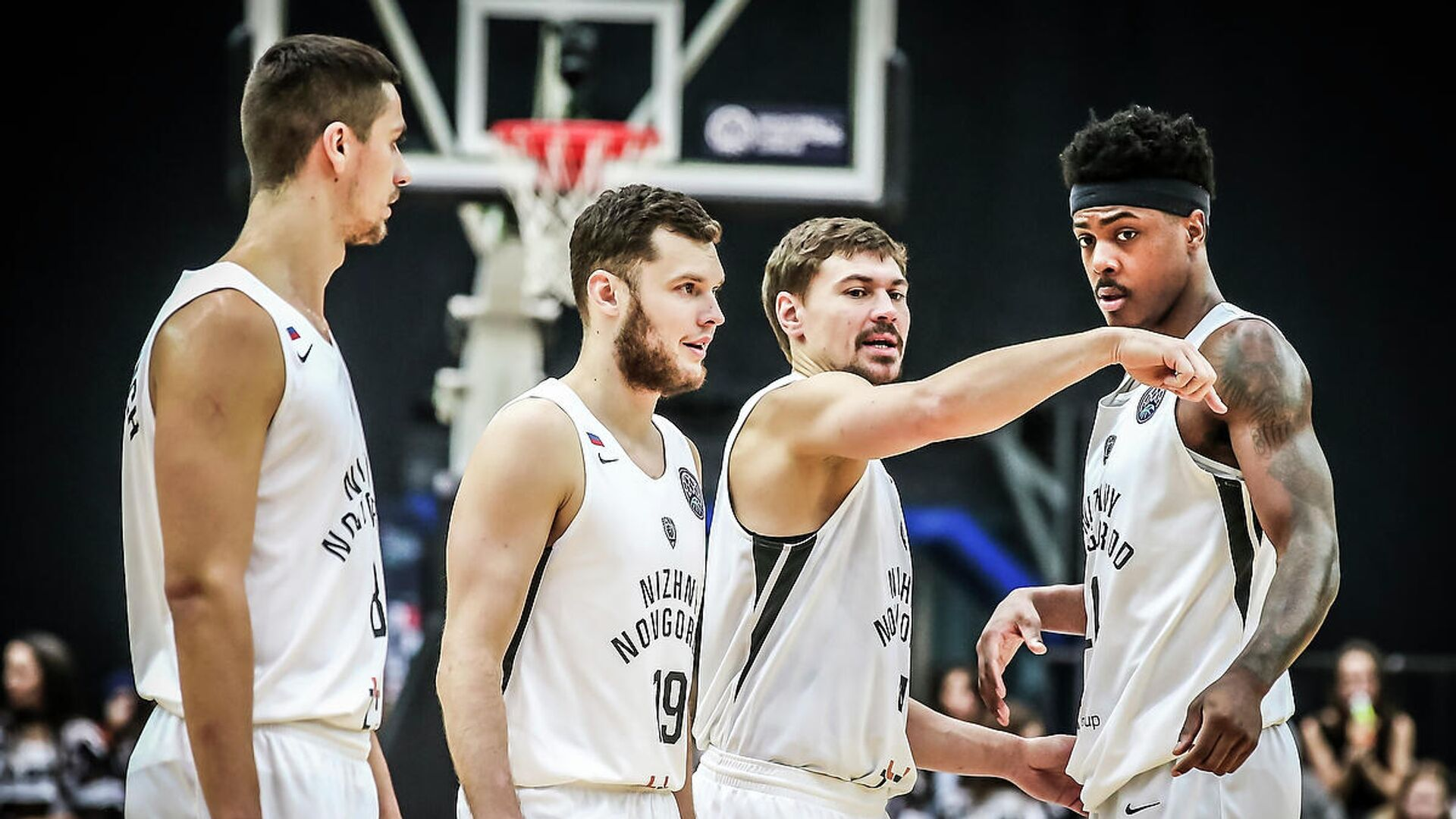 Баскетболисты Нижнего Новгорода - РИА Новости, 1920, 29.10.2020