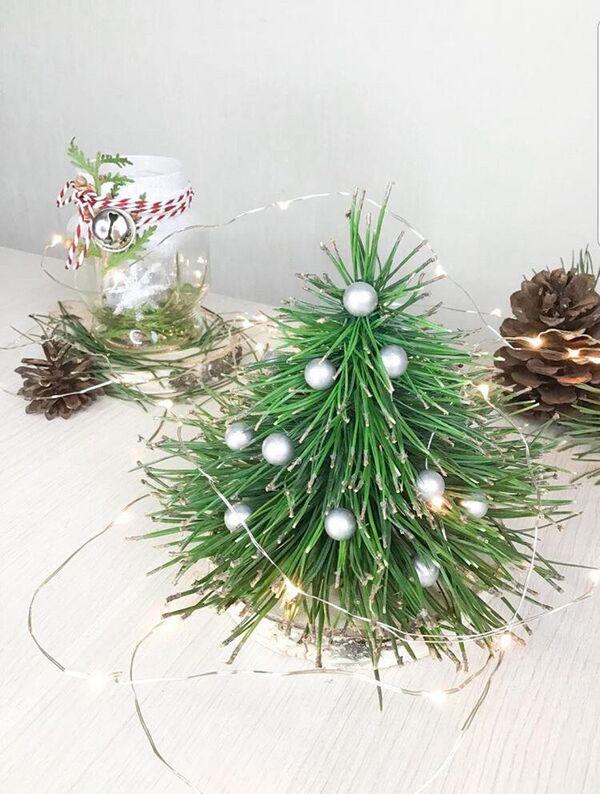 Самодельная новогодняя елка