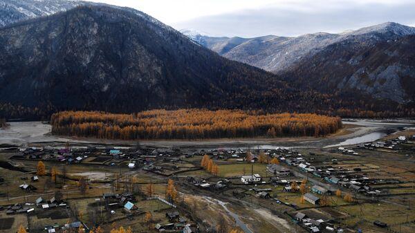 Село Алыгджер Тофаларского муниципального образования Иркутской области