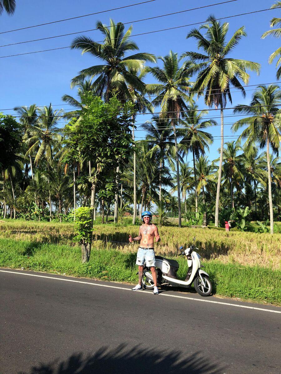 Артем Пиндюра на Бали