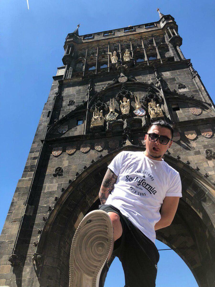 Анатолий Цой в Праге