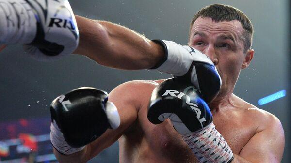 Боксер Денис Лебедев (Россия)