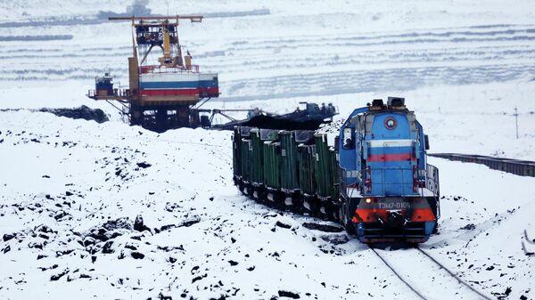 Добыча угля в Красноярском крае