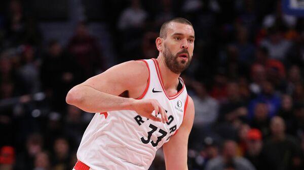 Баскетболист Торонто Рэпторс Марк Газоль