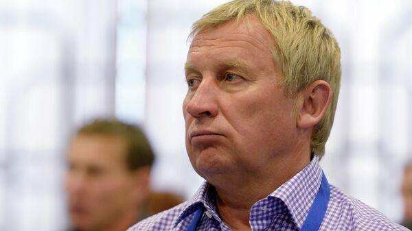 Вице-президент Союза биатлонистов России (СБР) по обеспечению деятельности сборных команд Валерий Польховский
