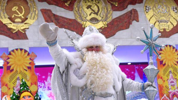 Актер в новогоднем спектакле Письмо Деду Морозу в Государственном Кремлевском дворце