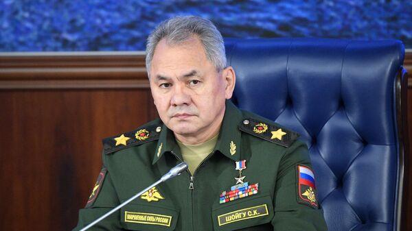 Министр обороны РФ, генерал армии Сергей Шойгу