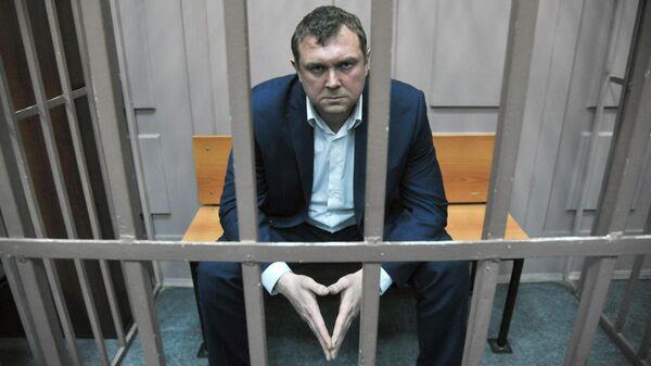 Юрий Черкашин в Басманном суде Москвы. 25 декабря 2019