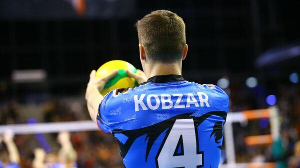 Связующий волейбольного клуба Кузбасс (Кемерово) Игорь Кобзарь