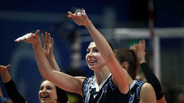 Блокирующая волейбольного клуба Динамо-Казань Ирина Королёва