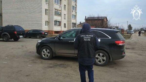 Кадры с места покушения на главу Рамонского района Николая Фролова
