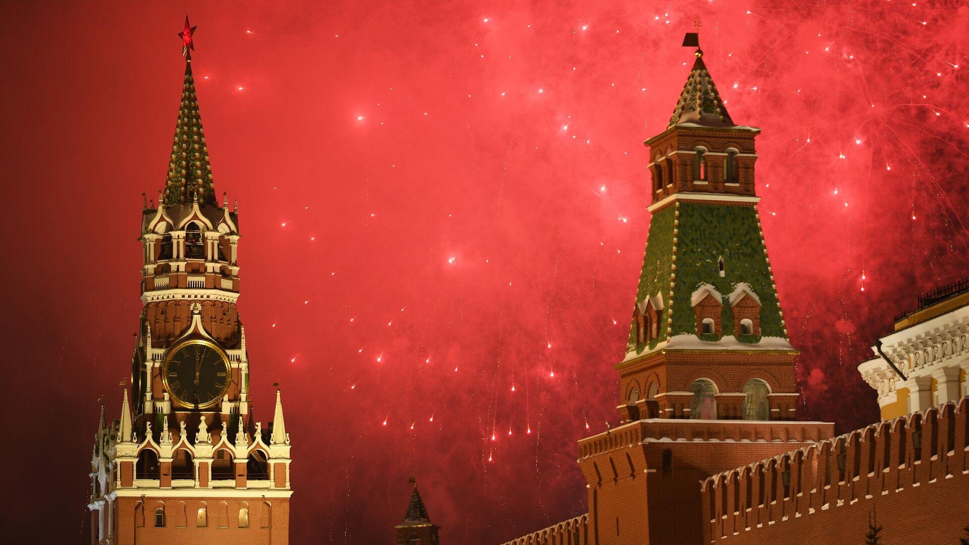 Празднование Нового года в Москве - РИА Новости, 1920, 21.12.2020