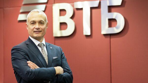 Руководитель департамента корпоративного цифрового бизнеса – старший вице-президент ВТБ Спартак Солонин