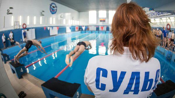 Сдача нормативов ГТО по плаванию