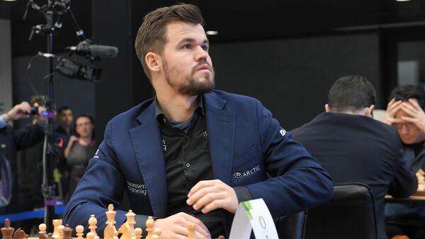 Норвежский шахматист Магнус Карлсен