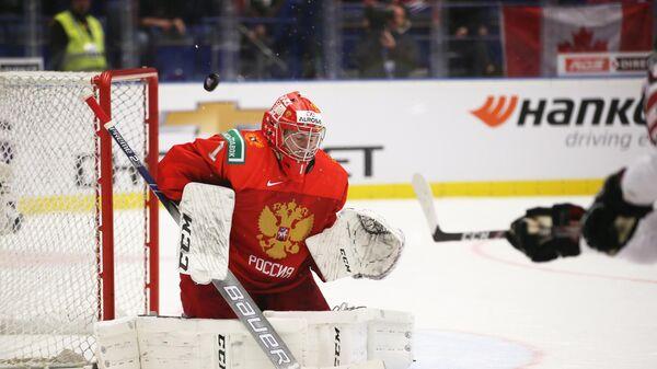 Мифтахов сыграет в воротах сборной России в матче МЧМ с американцами