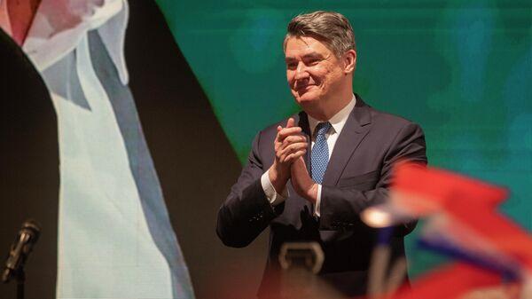 Хорватский политический и государственный деятель Зоран Миланович