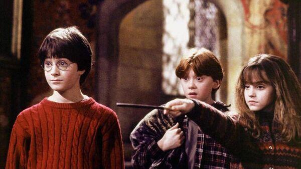 Кадр из фильма Гарри Поттер и философский камень(2001)