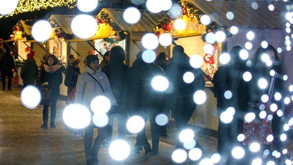 Новогодняя ярмарка в Мурманске