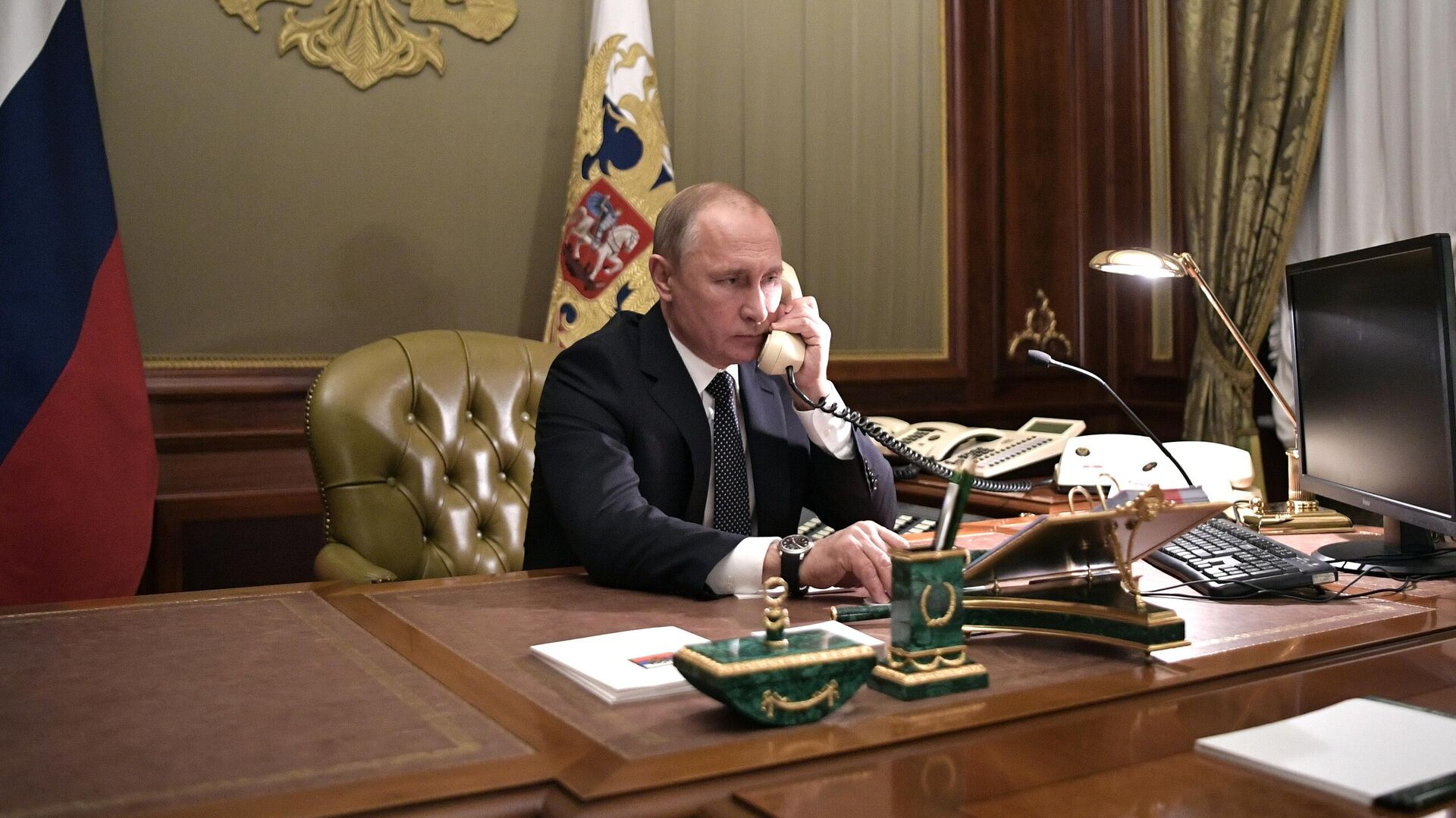 Президент РФ Владимир Путин - РИА Новости, 1920, 27.01.2021