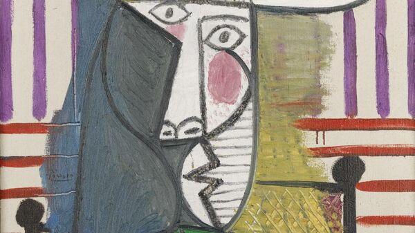 Бюст женщины. Пабло Пикассо. 1944