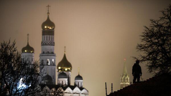 Колокольня Ивана Великого в Московском Кремле