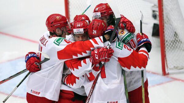 Хоккей. Молодежный чемпионат мира. Четвертьфинал. Матч Швейцария - Россия