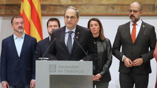 Глава правительства Каталонии Ким Торра