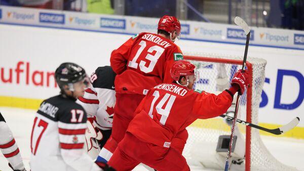Хоккей. Молодежный чемпионат мира. Матч Россия – Канада