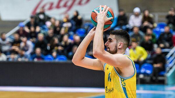 Баскетболист Астаны Душан Ристич