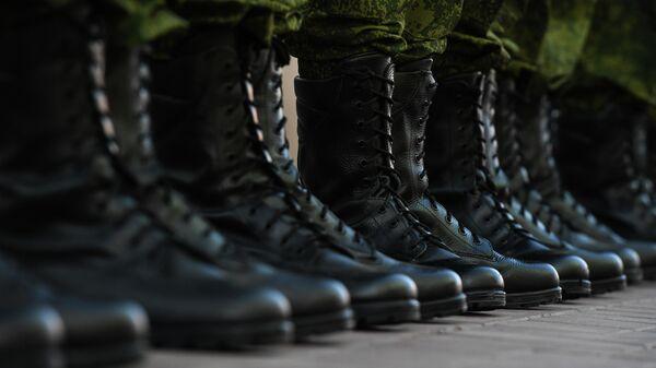 Построение солдат